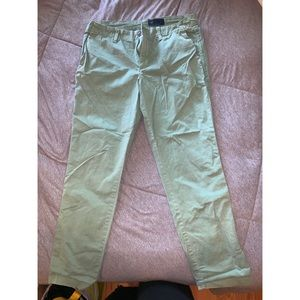 GAP GREEN PANTS